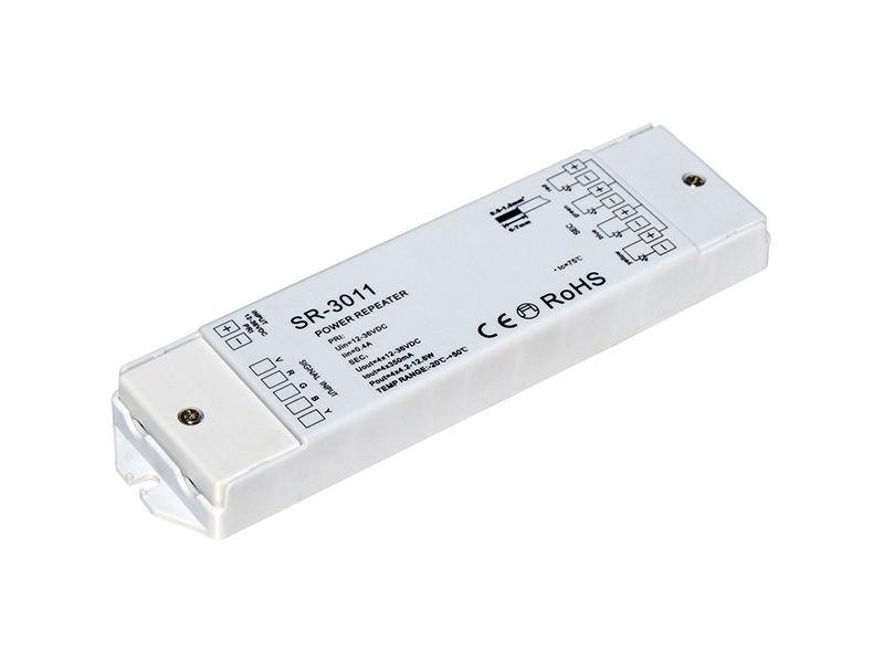 Repeator, pojačalo signala, 12-36V ulaz, 4×350 mA 4×(4.2-12.6)W izlaz, konstantna struja