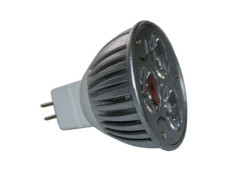 LED žarulja, MR16, 3×1 W, 60°, 12 V, hladna bijela – X-Light