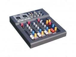 Mikser F-4, 2 XLR + 1 stereo kanal + MP3/USB player – X-Audio