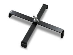 Podni stalak za reflektore, sVijkom M8 24×24 cm – Athletic