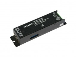 DMX interface, RGB dekoder/driver, 3×5 A, (24V/360W, 12V/180W)