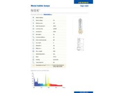 JENBO Žarulja NSK-200 (kao MSD-200), metal halid, 6000K, 13500 Lum, 2000 h, GY9.5