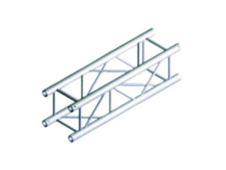 Alu konstrukcija PQ30-300, kvadratna, ravna, 3m + spajalice – Milos