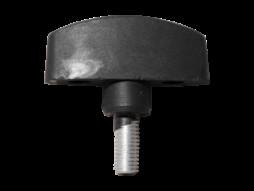 X-Audio Rezervni vijak plastično-metalni M6, krilni za zv. stalak BOX4X/BOX4XAL/BOX3X