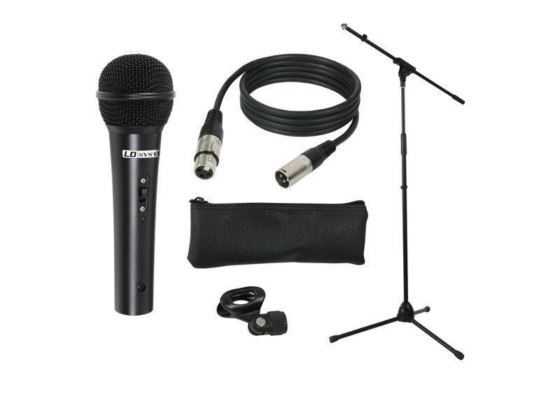 LD Systems Mikrofonski set – Mikrofon kabel stalak hvataljka