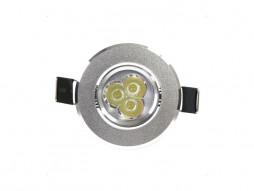 X-Light LED lampa ugradbena, 3x1W, EKO-MINI, 60°, hladna bijela