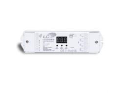 X-Light LED DMX Dekoder, 12-36V ulaz, 4×5 A 4x(60-180)W, Stand Alone