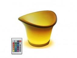 LED posuda za piće (kibla), RGB 360, s punjivim baterijama i daljinskim