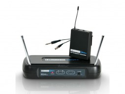 Mikrofonski set ECO2 BPG, bežični, uključen belt pack i gitarski kabel, 863.100 MHz – LD systems