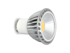 LED žarulja, GU10, 3 W/220 V, 250 lm, COB, hladna bijela 6000 K