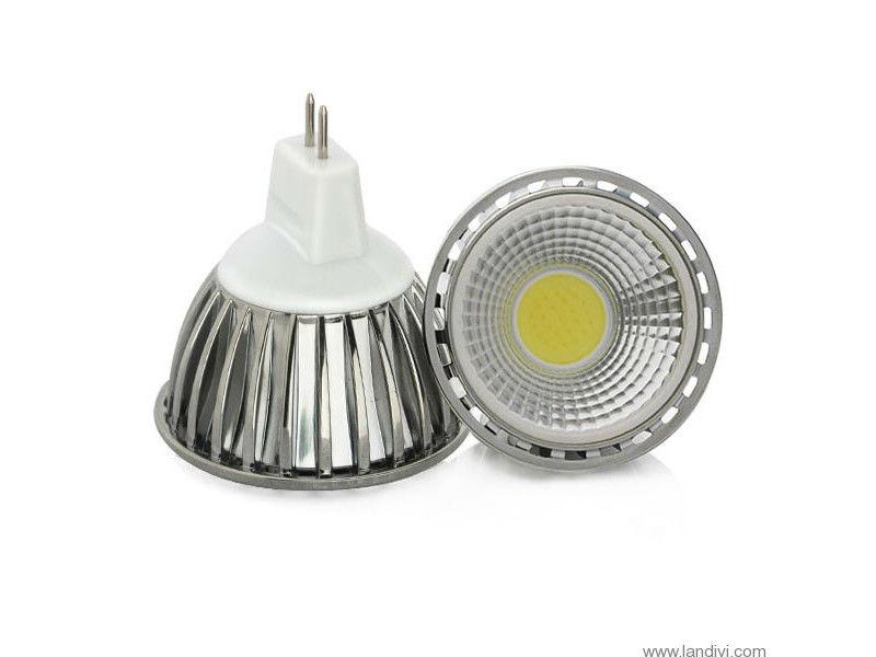 LED žarulja MR16, 3W/12V, 250lm, COB, hladna bijela 6000K