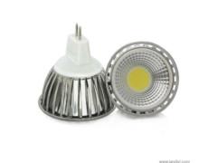 LED žarulja, MR16, 5 W/12 V, 300 lm, COB, hladna bijela 6000 K, dimabilna