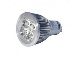 LED žarulja GU10, 5x1W, topla bijela, dimabilna – Bridgelux