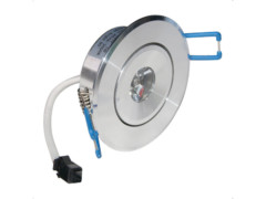 LED downlighter ugradbeni, okrugli, 1x1W, 60° hladna bijela IP20 – Optonica