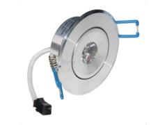 LED lampa, ugradbena, 1x1W, 60°, topla bijela, IP20 – Optonica RASPRODAJA