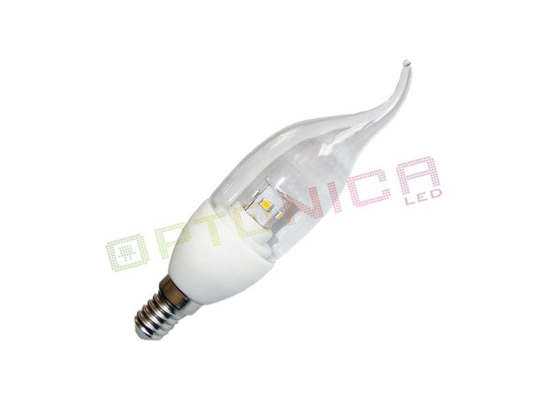 Optonica LED žarulja E14 C37 6W 480LM 175-265V 2700K topla bijela – 3kom