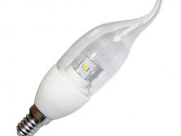 Optonica LED žarulja E14, 4W/220V topla bijela dimabilna