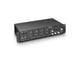 LD Systems Mikseta ZONE423, 2 zone, 4 kanala + 2mikrofonska, 2U, 19″