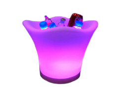 LED posuda za piće (kibla), LED RGB, s daljinskim, 36x36x27 cm