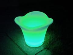 LED posuda za piće (kibla), LED RGB, s daljinskim, 42x42x32 cm