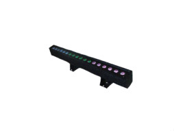 LED light bar, 18pcsx3W RGB DMX IP65 – Edison
