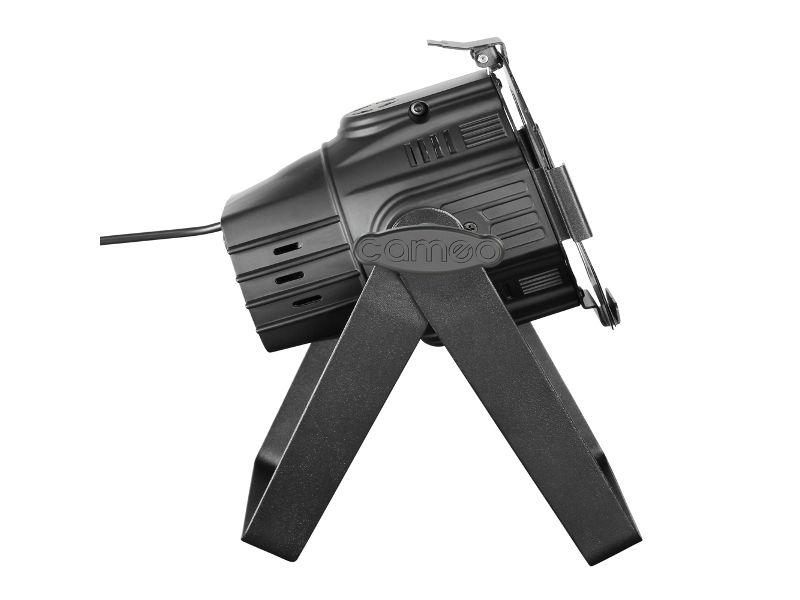 Cameo LED reflektor PAR COB, 30W, mini, RGB, crni
