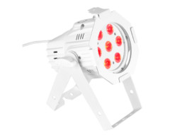 Cameo LED reflektor PARQ, mini, 7x8W RGBW, bijeli, DMX