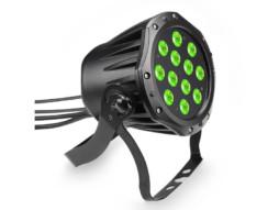 Cameo LED reflektor CLPSTTRI12IP, 12x3W, RGB, crni, IP65