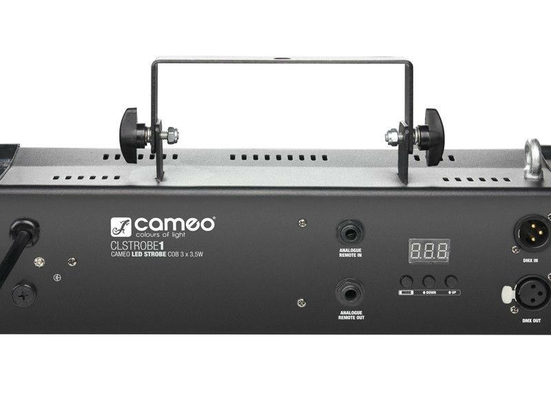 Cameo Stroboskop STROBE1 3×3.5W, bijeli, COB LED