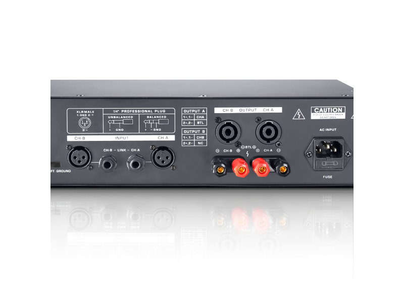 LD Systems Pojačalo DJ 500, PA power amplifier, 2x250W/4 Ohm ili 2x150W/8Ohm