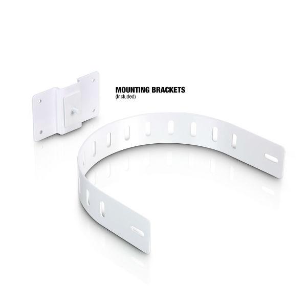 LD Systems Zvučna kutija SAT242G2W, 2×4″ pasivna, instalacijski monitor, bijeli