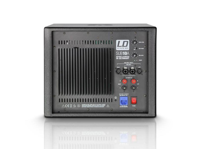 LD Systems Zvučna kutija SUB10A, 10″, aktivni, subwoofer