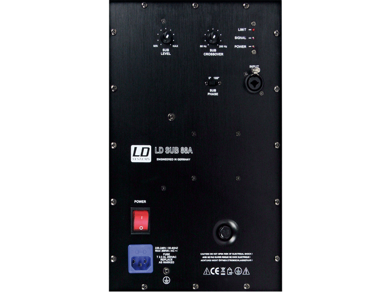 LD Systems Zvučna kutija SUB88A, 2x 8″ aktivni subwoofer