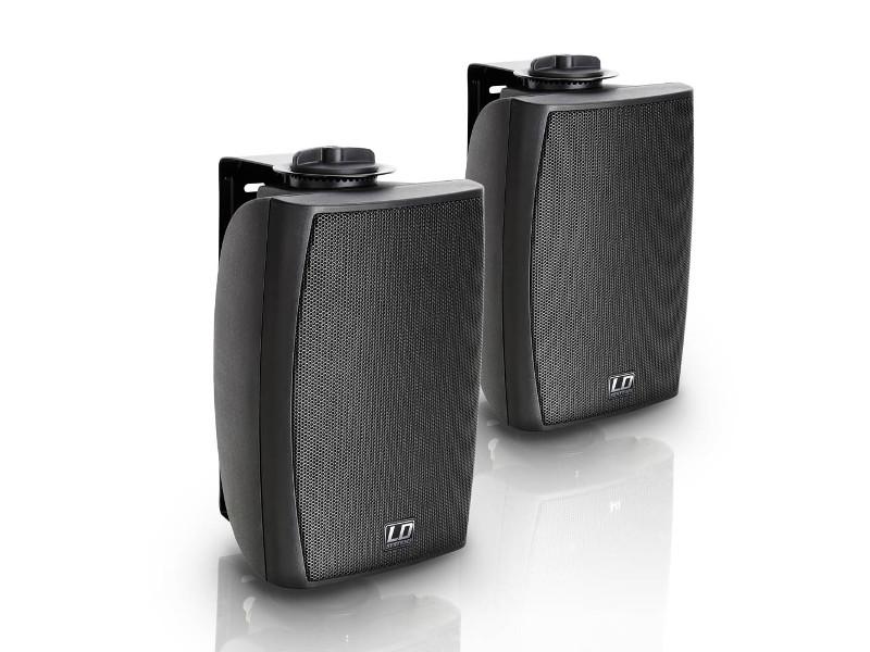 LD Systems Zvučna kutija Contractor CWMS42B, 4″, 2-way, 20W, crni (par)