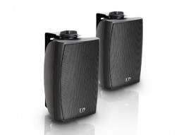 LD Systems Zvučna kutija Contractor CWMS42B, 100V, 4″, 2-way, 20W, crni (par)