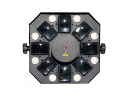 Laser MIX528, LED efekt, 150 mW crvena, 50 mW zelena, RGBOrangeWhite LED efekt