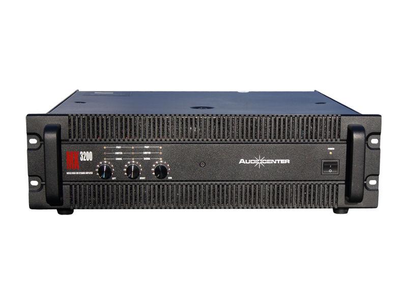 Audiocenter Pojačalo MX3200 2×200W + 540W @8ohm stereo 2x350W+850W@4ohm stereo SUB: 1200W