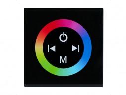 Dimer, LED, zidni, ugradbeni, na dodir, RGB, 3 x 4 A, 12/24 V – X-Light