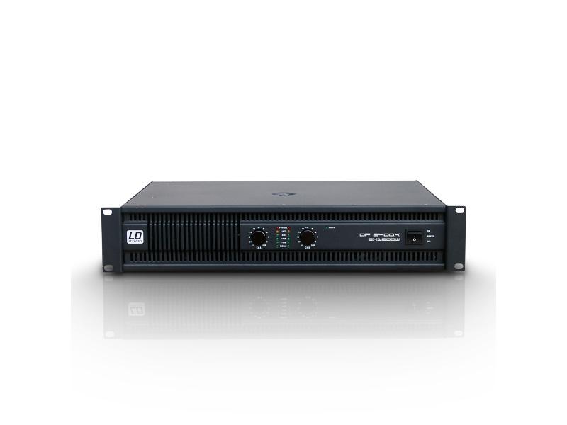 LD Systems Pojačalo DEEP2 Series, 2x1200W 2 Ohm, 2x950W 4 Ohm 2x 600W 8 Ohm