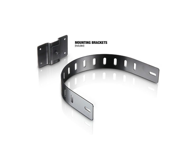 "LD Systems Zvučna kutija SAT62G2, 6,5"" pasivna, 80W, instalacijski monitor, crni (par)"