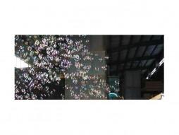 Uređaj za balončiće, 100 W, 2×2 ventilatora, bežična kontrola