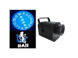 LED logo projektor, 1x30W, bijela ledica, rotacija, fokus, gobo