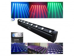 LED Moving BAR, RGBW, 8×10 W 4in1, 8 snopova svjetla