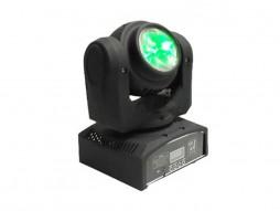 LED Moving Head Mini Beam, CREE 4x10W, RGBW, Double Sides