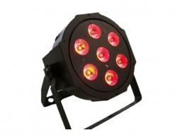LED reflektor 7x4W 4in1 RGBW