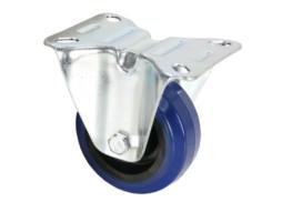 Adam Hall Kotač 80 mm, plavi za rack, ravni bez zaokretanja
