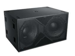Audiocenter Zvučna kutija dual 18″ K-LA218-DSP 2800W RMS DSP subwoofer aktivna