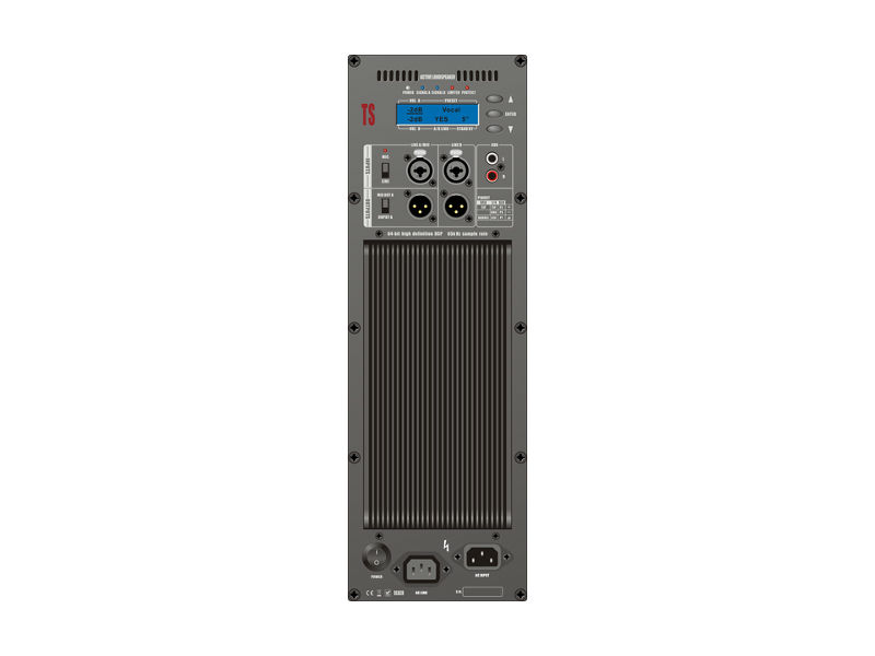 Audiocenter Zvučna kutija single 12″ TS112-SW 1200W RMS DSP aktivna subwoofer