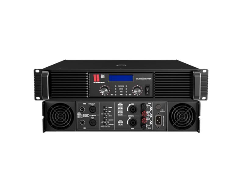 Audiocenter Pojačalo VA601 2×600W@8Ohm stereo 2×900 W@4Ohm stereo 2ohm stereo stable