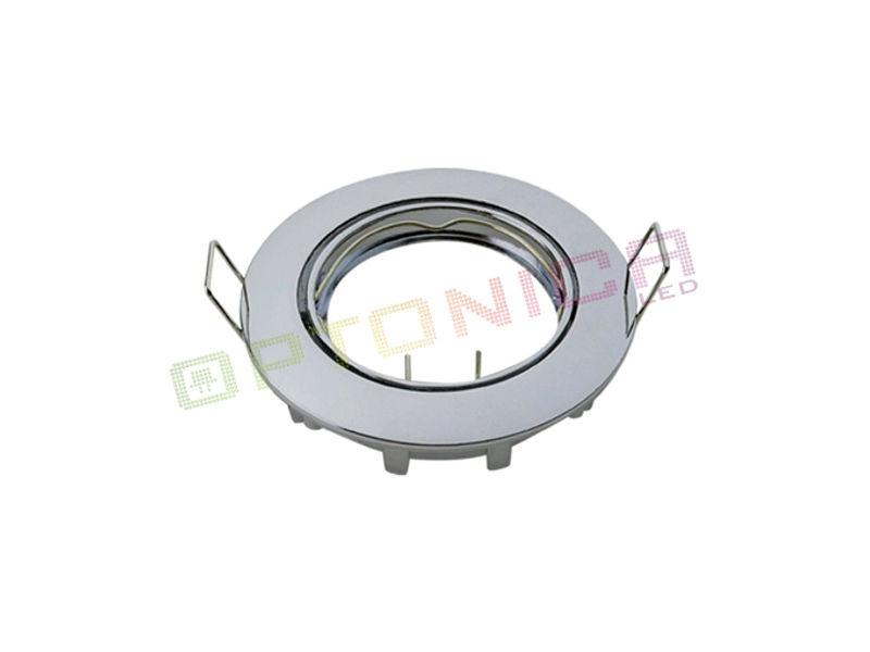 Optonica Downlighter rotirajući CHROM BODY 82x29mm, 75mm G5.3